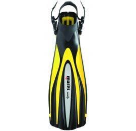 Nadadeira de Mergulho Mares Excel + - Amarela Mergulho Scuba