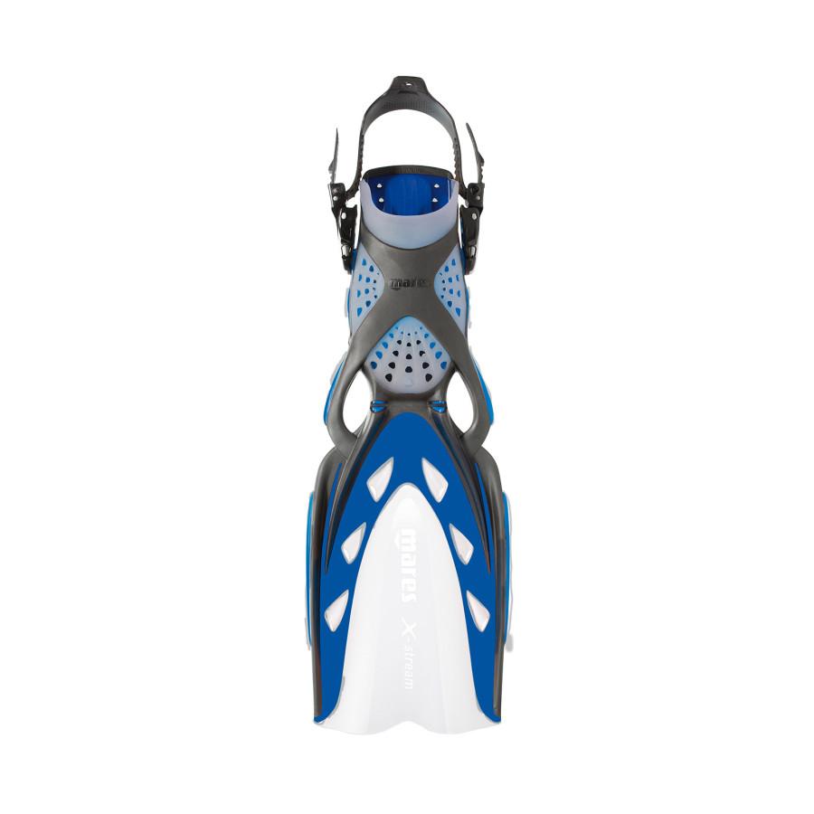 Nadadeira de Mergulho Mares X-Stream - Azul Mergulho Scuba