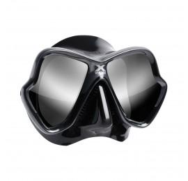 Máscara de Mergulho Mares X-Vision Ultra Liquidskin - Cinza Espelhado