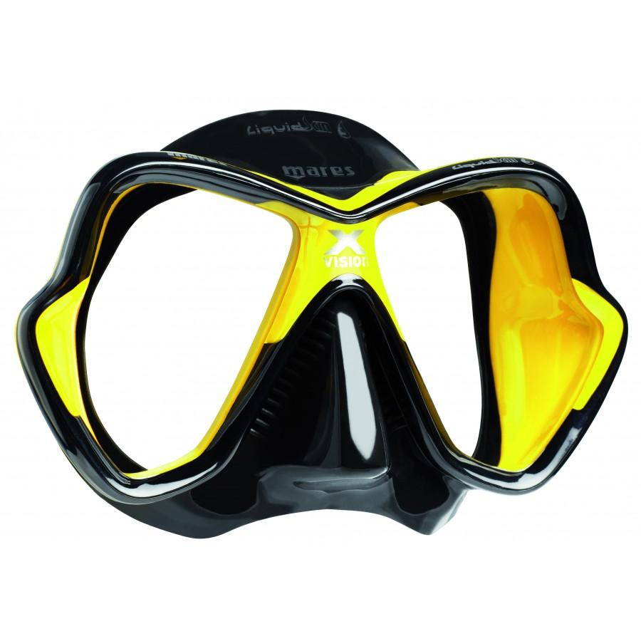 Máscara de Mergulho Mares X-Vision Ultra Liquidskin Mergulho Scuba
