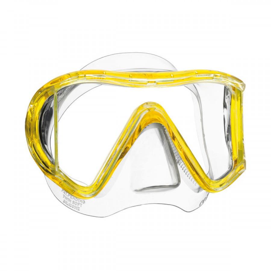 Máscara de Mergulho Mares I3 - Amarela Mergulho Scuba