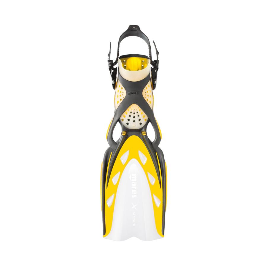 Nadadeira de Mergulho Mares X-Stream - Amarela Mergulho Scuba