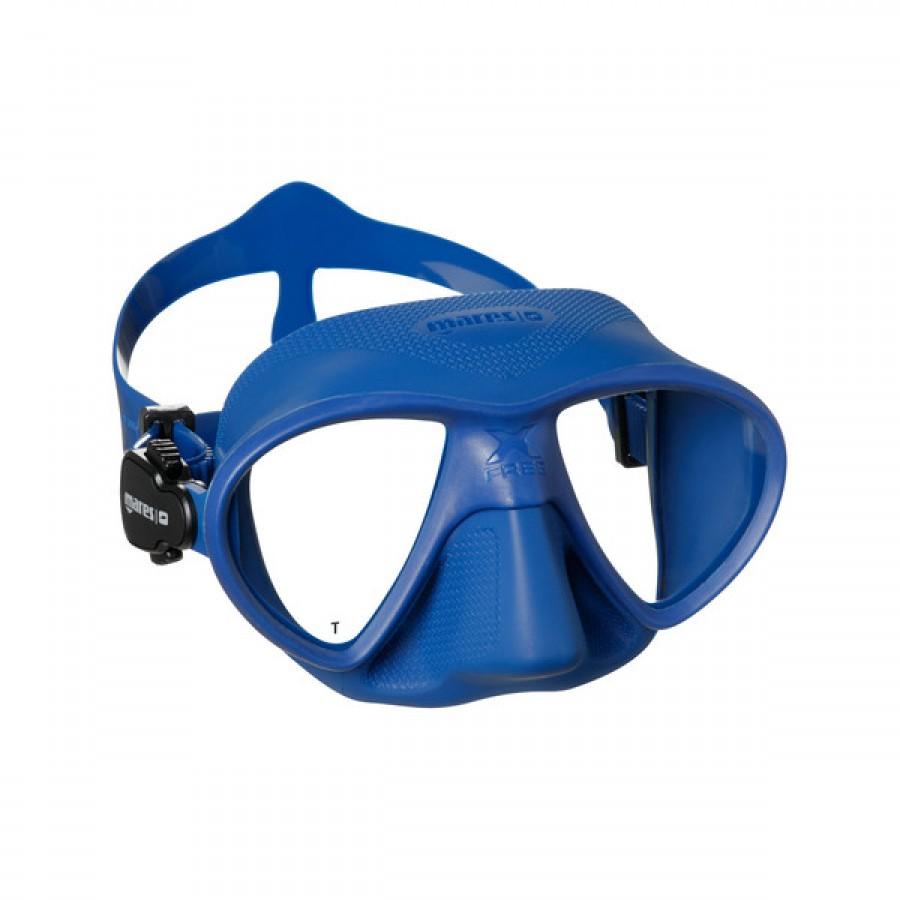 Máscara de Mergulho Mares X-Free - Azul Mergulho Livre