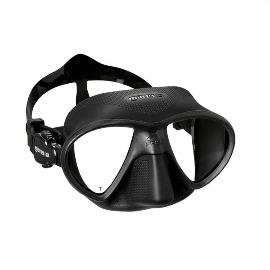 Máscara de Mergulho Mares X-Free - Preta Mergulho Livre