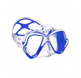 Máscara de Mergulho Mares X-Vision Ultra Liquidskin - Azul Transparente Mergulho Scuba