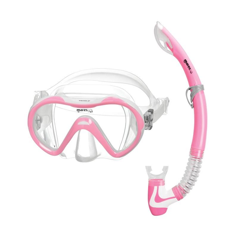 Kit de Mergulho Mares Vento Jr Snorkeling