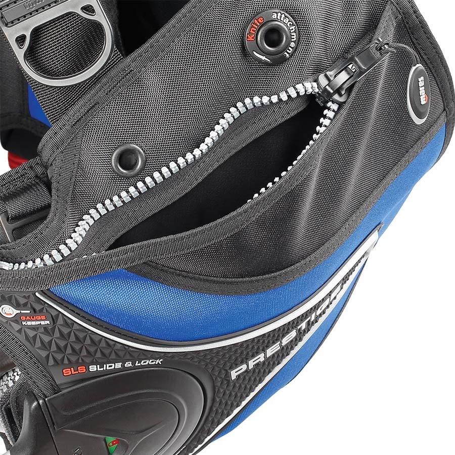 Colete de Mergulho Mares Prestige SLS - Azul Mergulho Scuba
