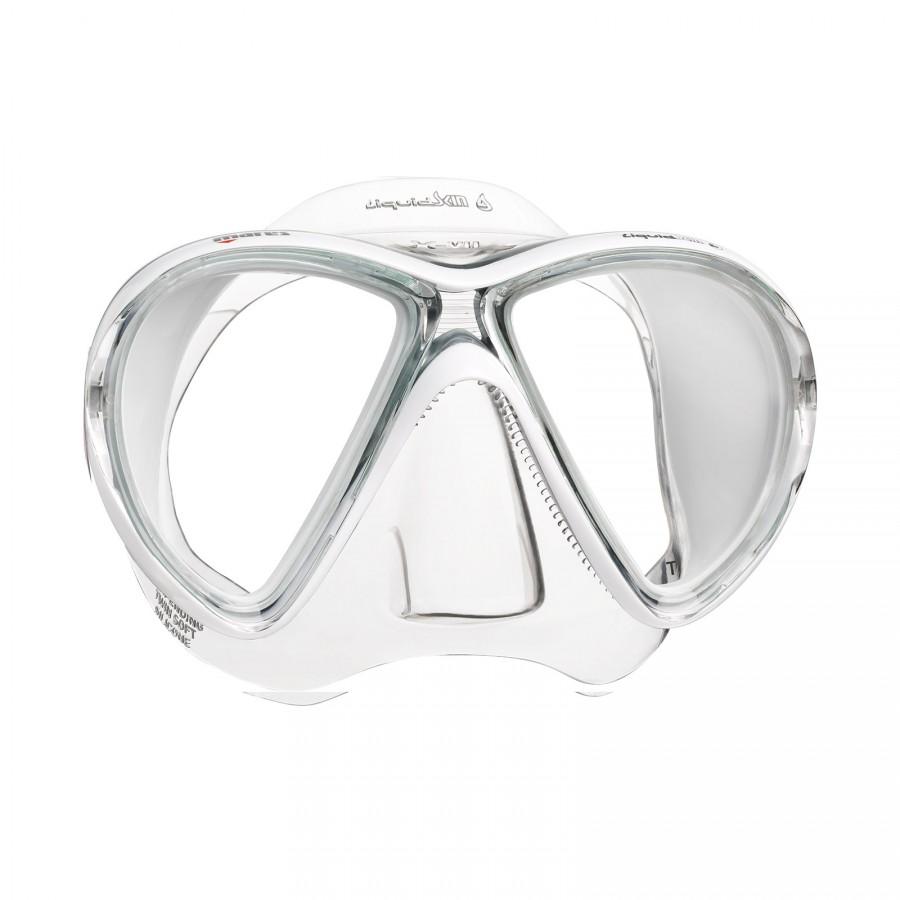 Máscara de Mergulho Mares X-VU Liquidskin Mergulho Scuba