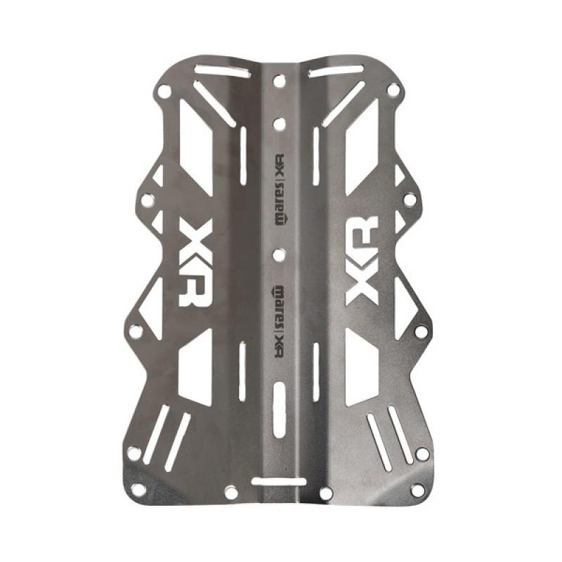 Backplate Mares de Aço Inoxidável - 6mm