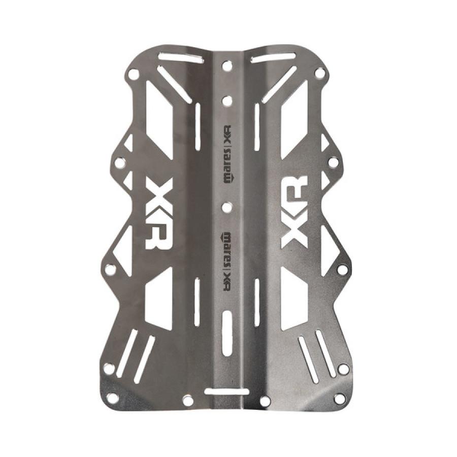 Backplate Mares de Aço Inoxidável - 6mm Mergulho Técnico