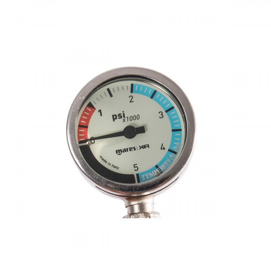 Manômetro de Mergulho Mares SPG52 – 15 cm Miflex Oxigênio Mergulho Técnico