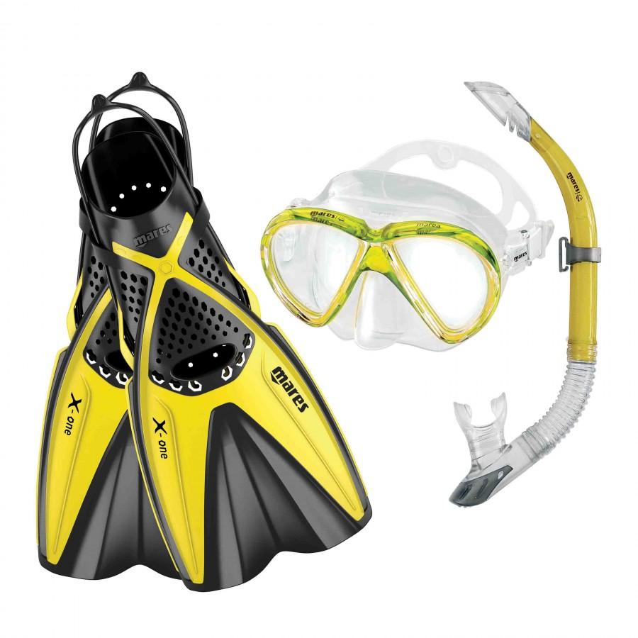 Kit de Mergulho Mares X-One Marea Snorkeling
