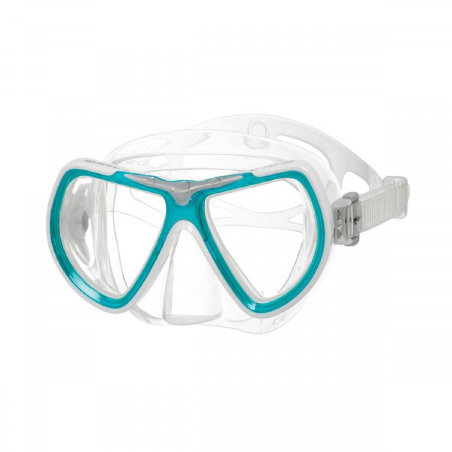 Máscara de Mergulho Mares Kona Mid - Azul Snorkeling