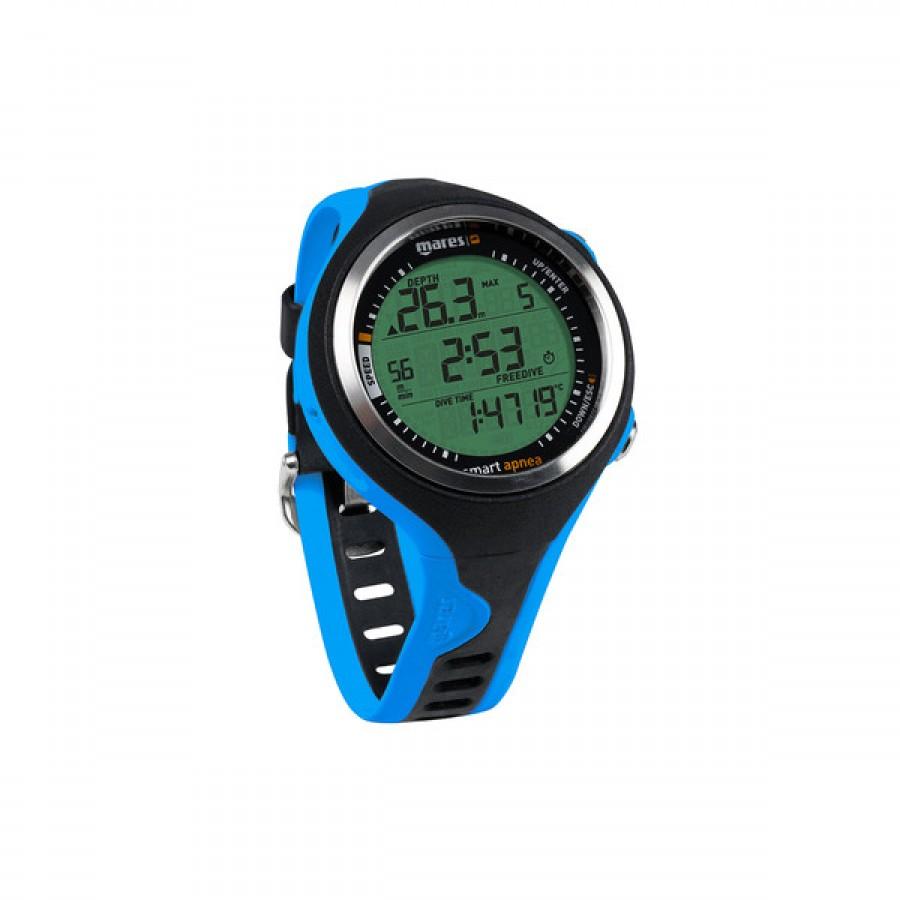 Computador de Mergulho Mares Smart Apnea - Azul Mergulho Livre