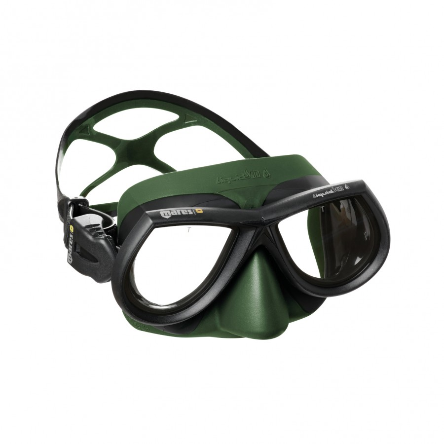 Máscara de Mergulho Mares Star Liquidskin - Verde Mergulho Livre