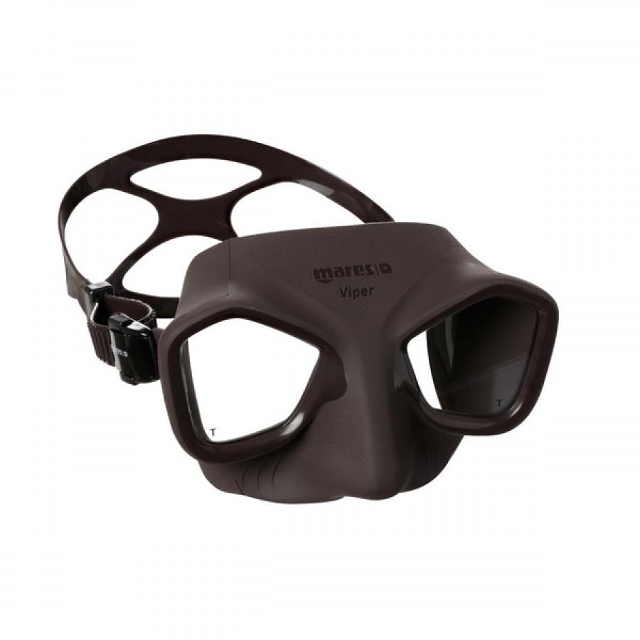 Máscara de Mergulho Mares Viper - Marrom Mergulho Livre