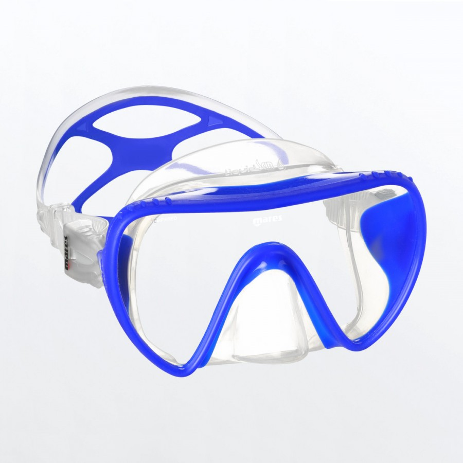 Máscara de Mergulho Mares Essence Liquidskin - Azul Mergulho Scuba